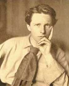 Rupert Brooke 1887 - 1915 [click for larger image]